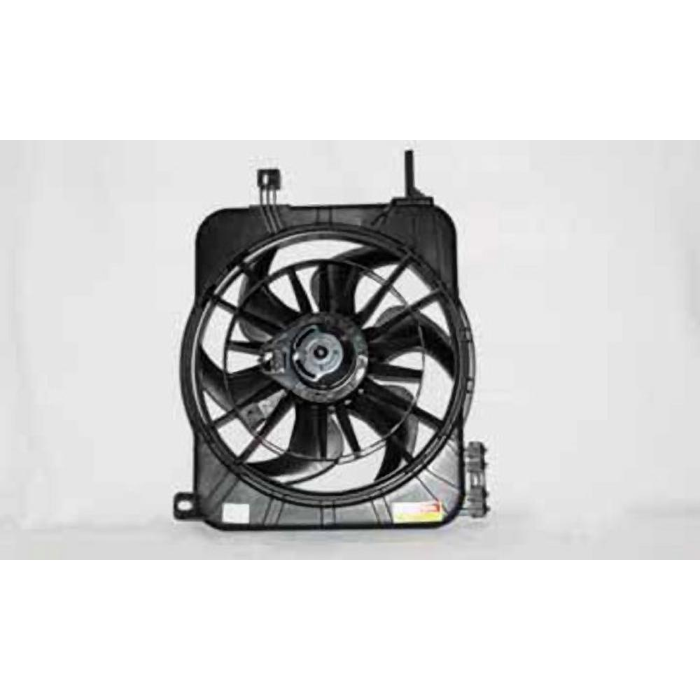 TYC 620100 Chevrolet//Pontiac Replacement Radiator//Condenser Cooling Fan Assembly