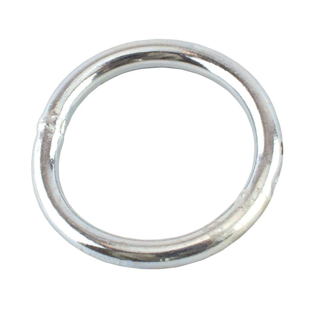 3/16 in. x 1-1/4 in. Zinc-Plated Welded Ring