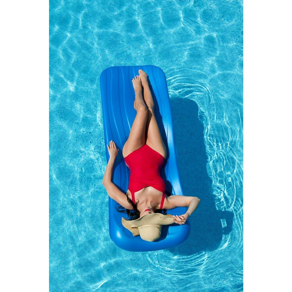 1.75 in. Thick Deluxe Cool Blue Pool Float