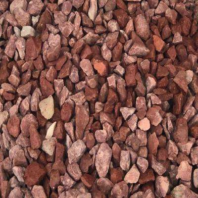 27.50 cu. ft. 3/16 in. 2200 lbs. Red Washed Gravel