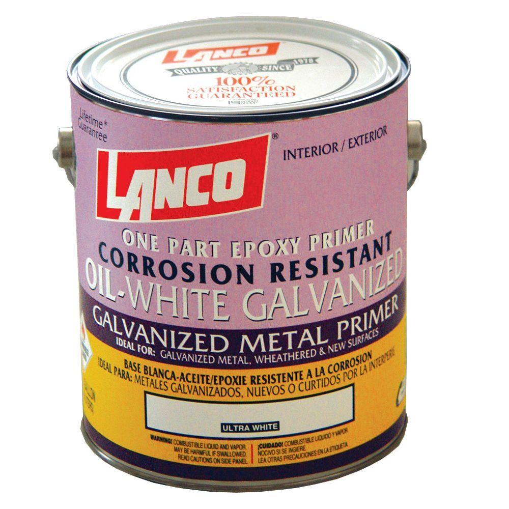Lanco 1 Gal. Oil-White Galvanized Metal Primer