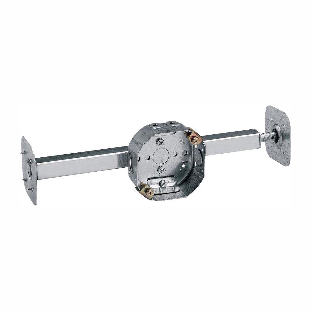 "Old Work 936 54151cfb-Bhl-Ow 4/"" X 1-1//2/"" Octagon Ceiling Fan Box Steel W//Hanger"
