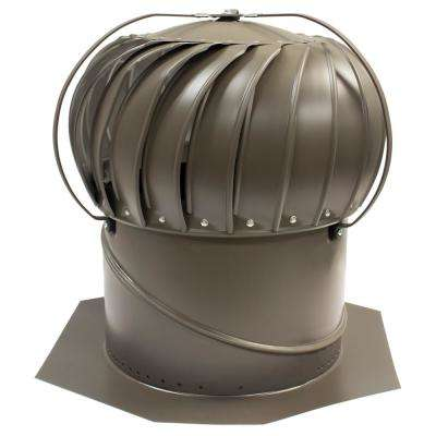 14 in. Weatherwood Aluminum Externally Braced Wind Turbine