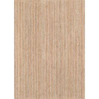Waltham Brown 7 ft. 6 in. x 9 ft. 6 in. Area Rug
