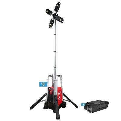 MX FUEL Lithium-Ion Cordless Rocket Tower Light