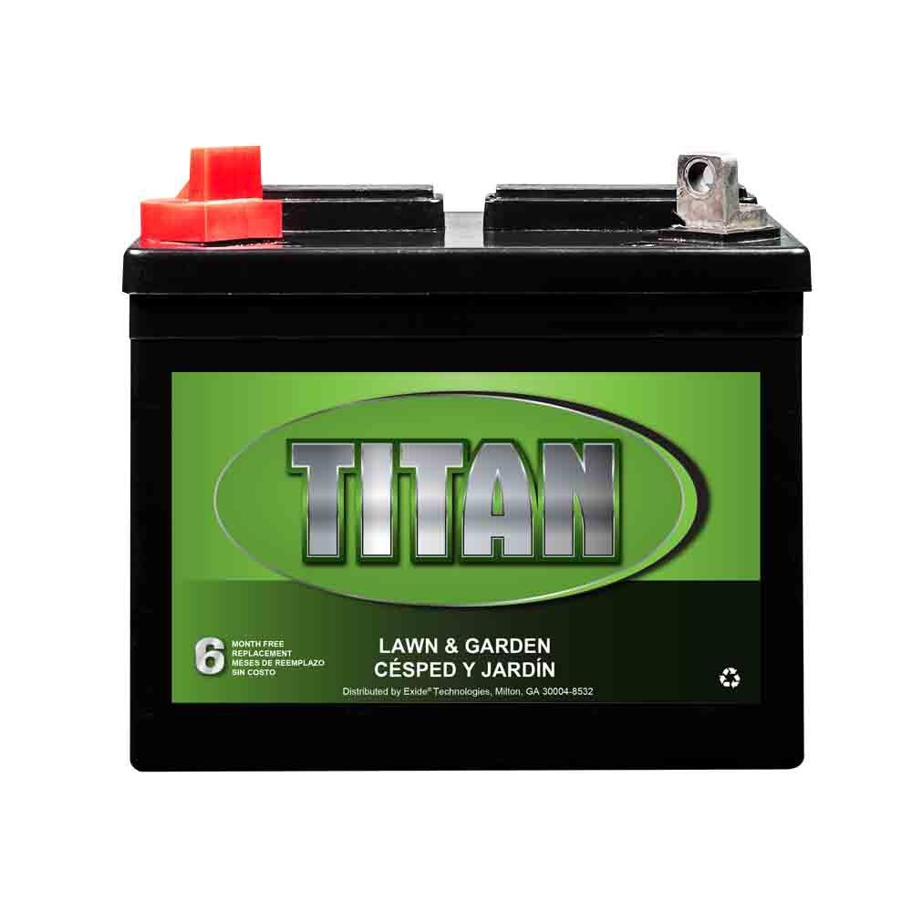 An 12 Volt U1 Tractor Battery