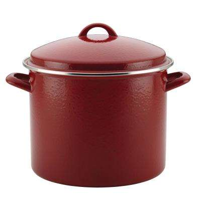 12 Qt. Steel Stock Pot