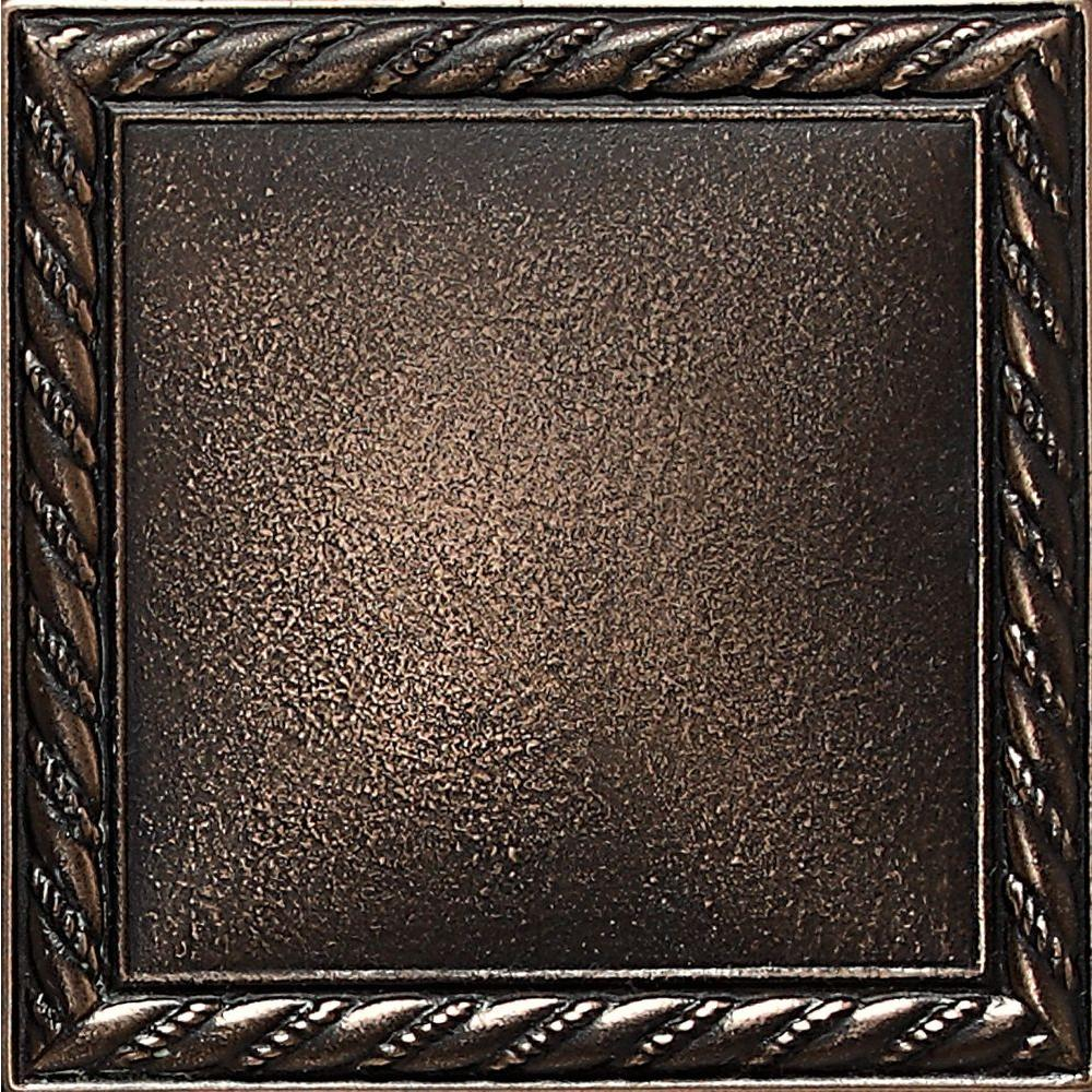 Ion Metals Antique Bronze 4-1/4 in. x 4-1/4 in. Composite of