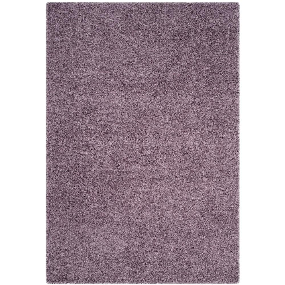 Laguna Shag Purple 4 ft. x 6 ft. Area Rug