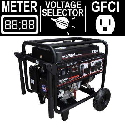 OSHA Compliant Pro-Series 7,250-Watt 389cc 13 MHP Gasoline Powered Portable Professional Generator