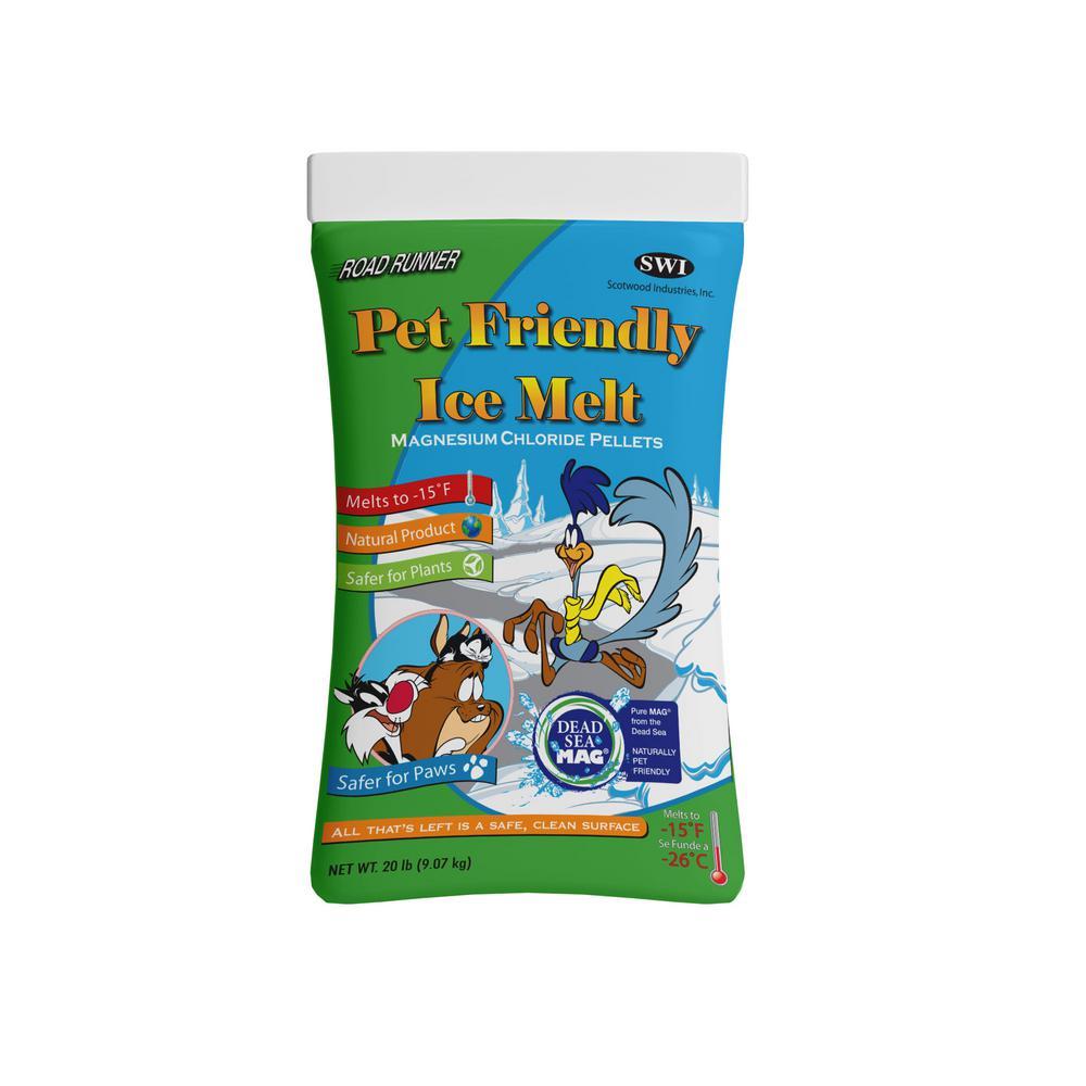 20 lbs. Pet Friendly Ice Melt Bag