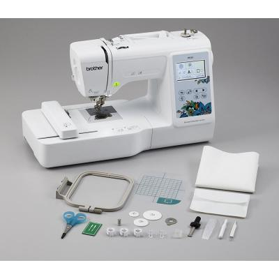 Brother-Blue Floral 12-Stitch Embroidery Machine with Large Color Touch LCD Screen