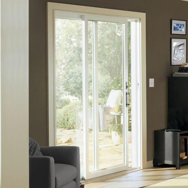 Andersen 72 In X 80 In 200 Series Perma Shield Sliding Patio Door White Right Hand Frame Kit 9122362 The Home Depot