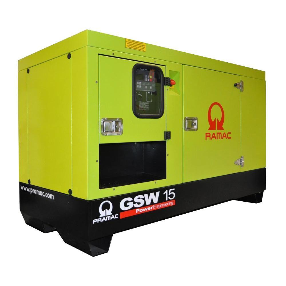 null 16,800-Watt Liquid Cooled Diesel Standby Generator