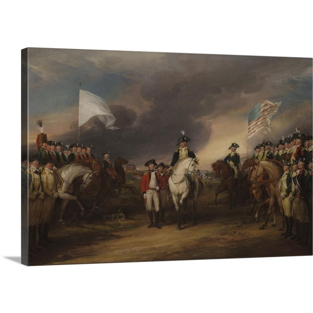 greatbigcanvas the surrender of lord cornwallis at yorktown