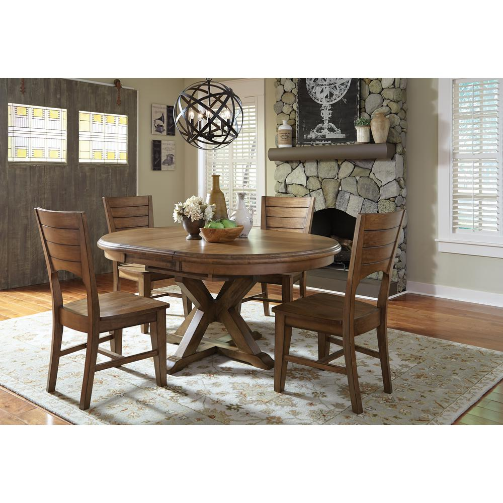 Pecan Wood Furniture Dining Room: International Concepts Canyon Pecan Wood Dining Chair (Set