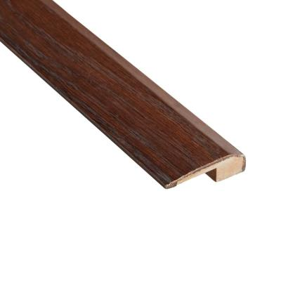 Distressed Barrett Hickory 3/8 in. Thick x 2-1/8 in. Wide x 78 in. Length Carpet Reducer Molding