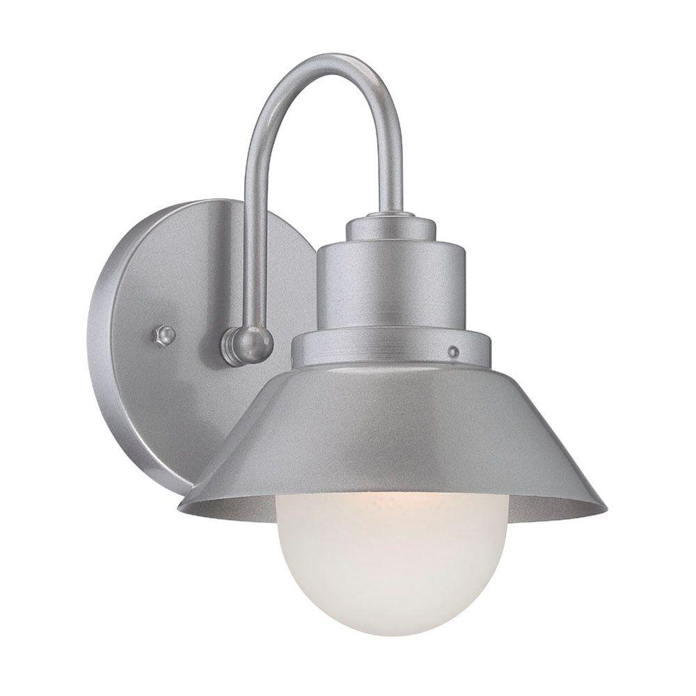 Acclaim Lighting Astro 1 Light Brushed Silver Wall