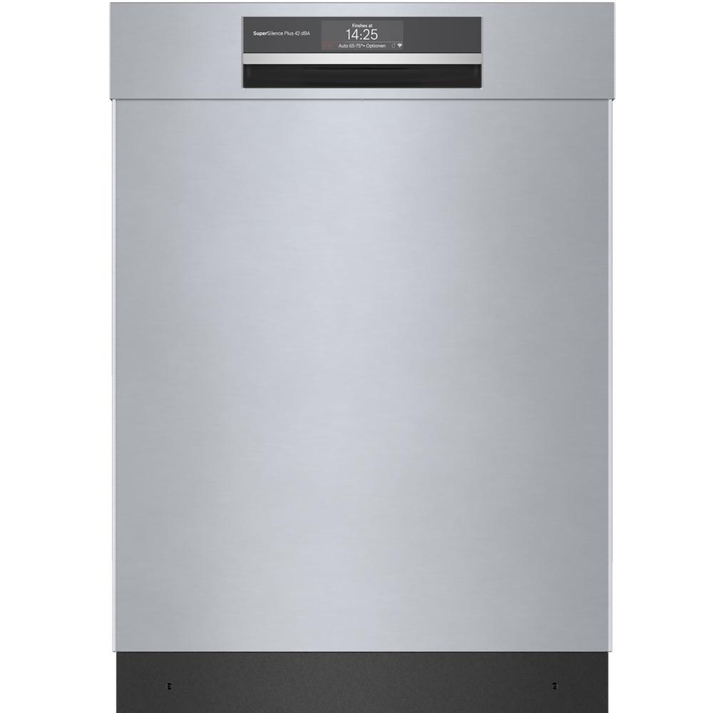 Bosch Top Control Tall Tub Home Connect Dishwasher in Stainless Steel with Stainless Steel Tub, CrystalDry, 42dBA