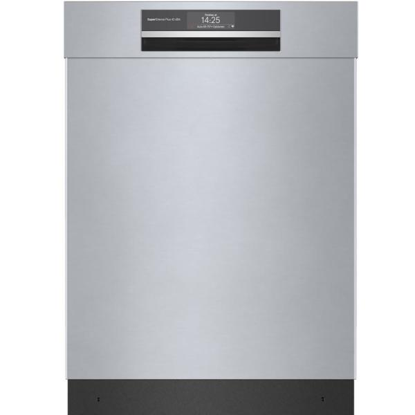 Top Control Tall Tub Home Connect Dishwasher in Stainless Steel with Stainless Steel Tub, CrystalDry, 42dBA