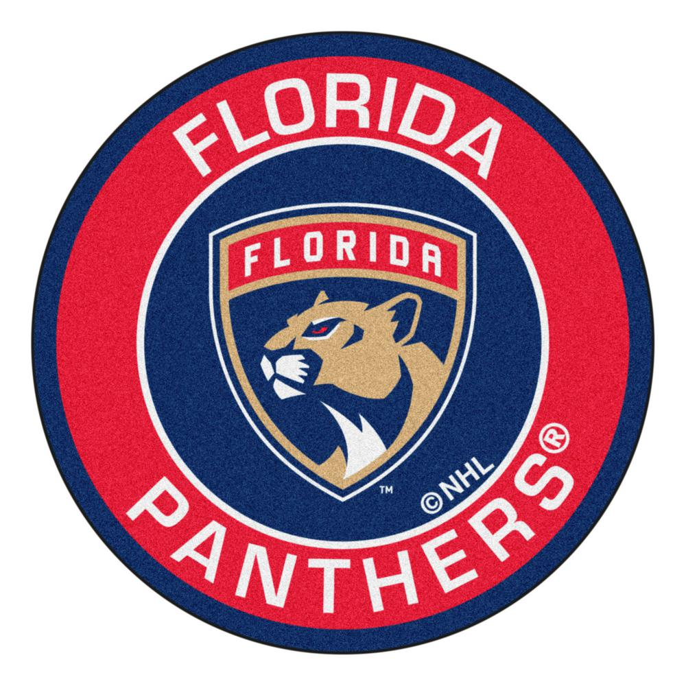 Fanmats Nhl Florida Panthers Red 2 Ft 3 In X 2 Ft 3 In