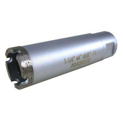 1-1/4 in. Wet Diamond Core Bit for Stone Drilling
