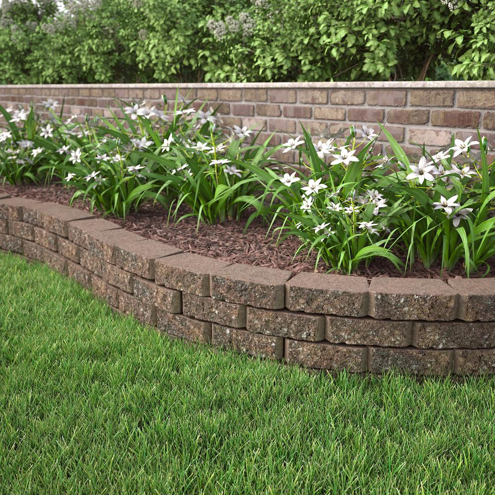 Pavestone 3 In X 10 6 Sierra Blend Concrete Retaining Wall Block