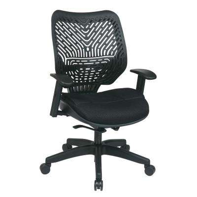 Revv Black SpaceFlex Manager Office Chair