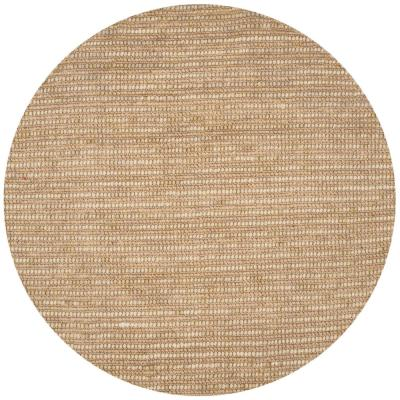 Bohemian Beige/Multi 8 ft. x 8 ft. Round Area Rug