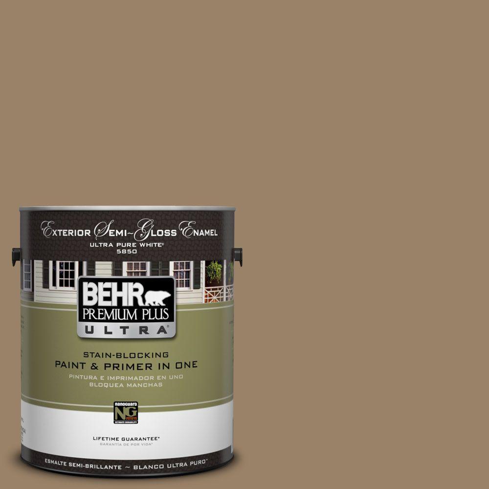 BEHR Premium Plus Ultra 1-Gal. #UL180-25 Collectible Semi-Gloss Enamel Exterior Paint
