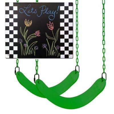 2-Swing Seats and Chalkboard Swing Set Refresher Pack Kit