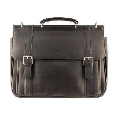 Business Black Briefcase for 15.6 in. Laptop and Tablet