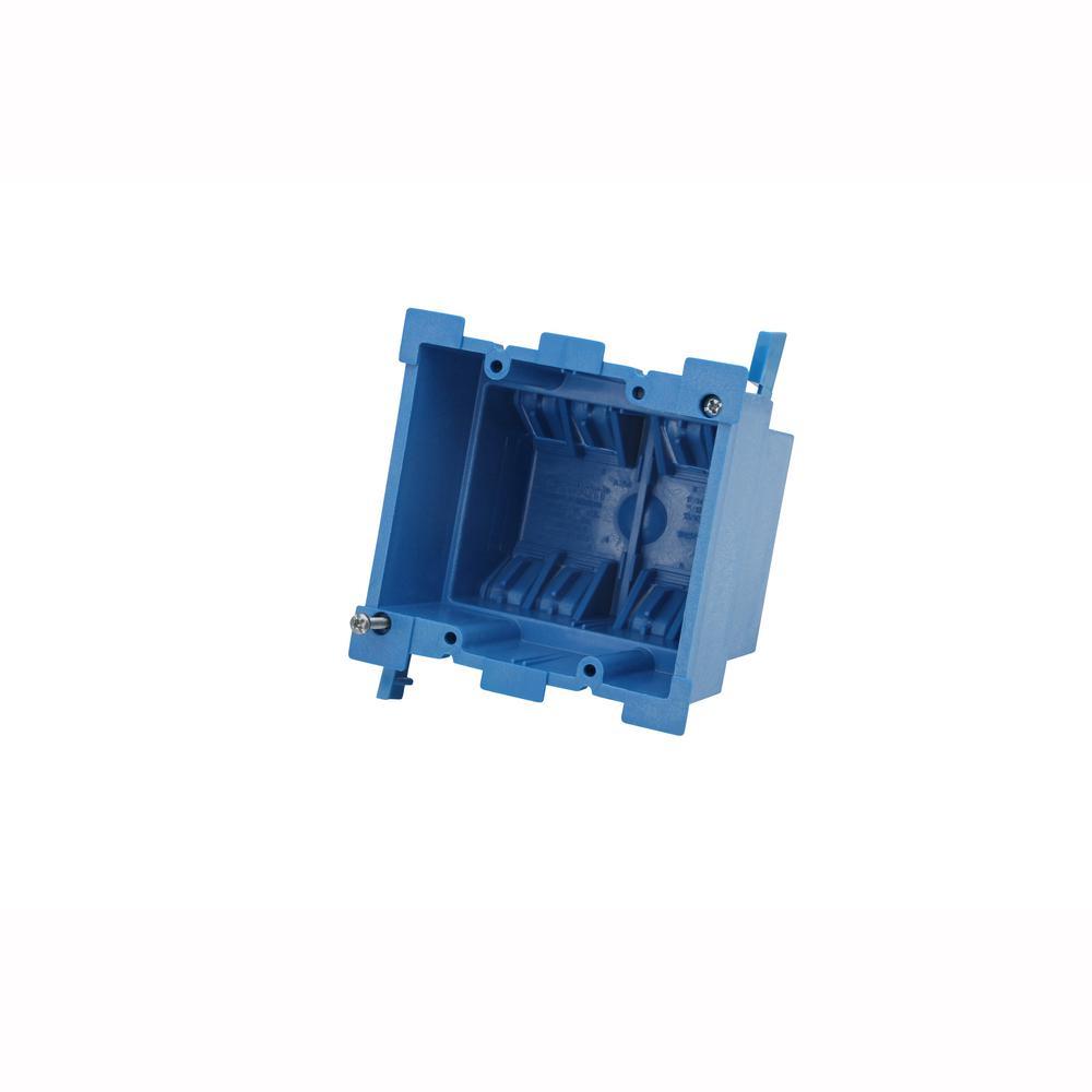 Carlon 2-Gang 34 cu. in. Old Work PVC Heavy Wall Electrical Box