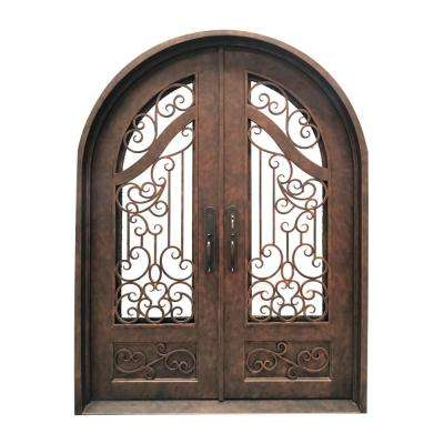 72 in. x 96 in. Aged Bronze Right-Hand Inswing 3/4  sc 1 st  Home Depot & Right-Hand/Inswing - Exterior Prehung - Antique Bronze - Doors ...