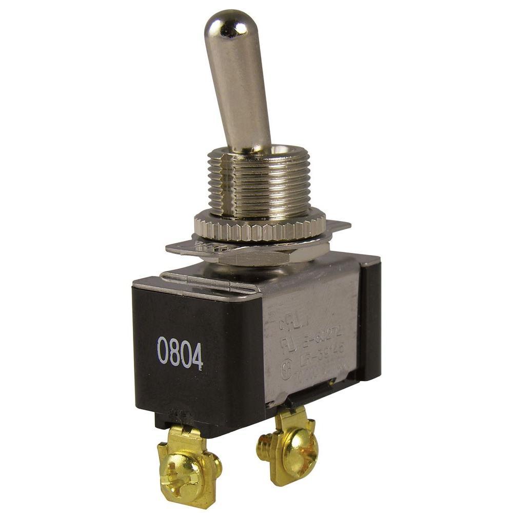 20 Amp Single-Pole Toggle Switch (1-Pack)