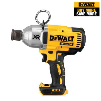 20-Volt MAX XR Lithium-Ion Cordless Brushless High Torque 7/16 in. Impact Wrench with Quick Release Chuck (Tool-Only)