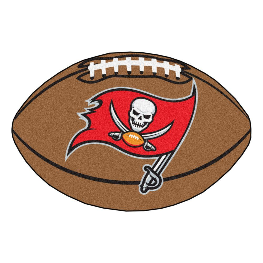 FANMATS NFL Tampa Bay Buccaneers Brown 1 ft. 10 in. x 2 ft ...