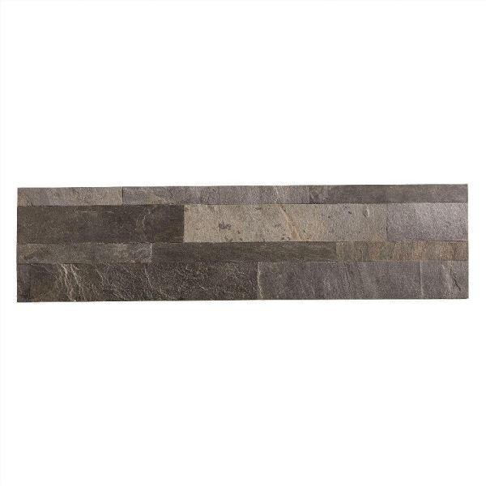 aspect 23 6 in x 5 9 in peel and stick stone decorative tile rh homedepot com stone backsplash at home depot