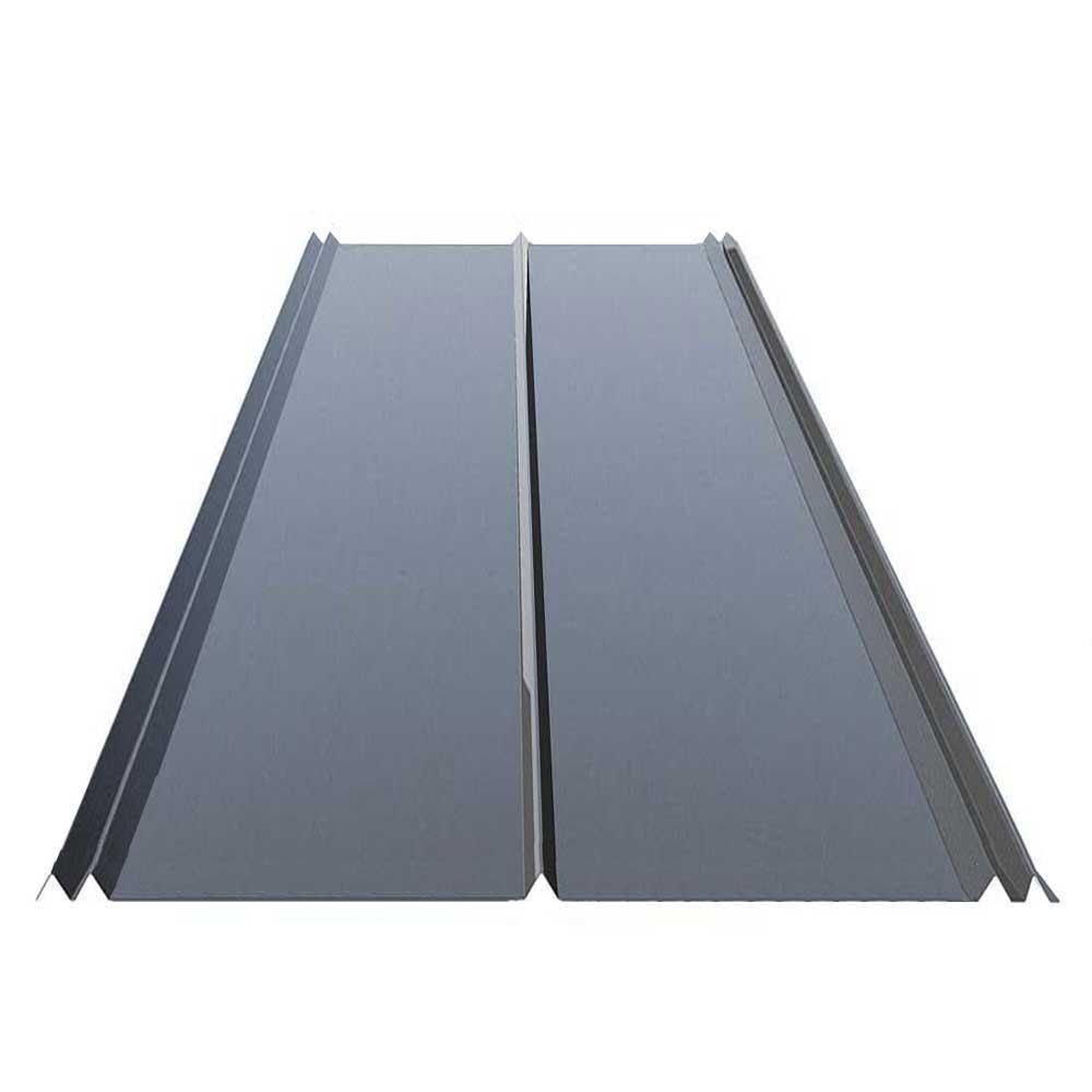 10 ft. 5V Crimp Galvanized Steel 29-Gauge Roof Panel