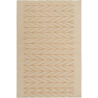 Purcell Tan 2 ft. x 3 ft. Area Rug