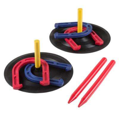 Rubber Horseshoes Game Set