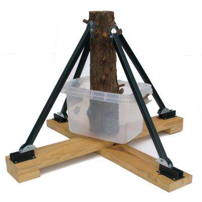 Heavy Duty Plastic Adjustable Tree Stand for Trees Up to 16 ft. Tall