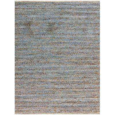Nathanial Blue 8 ft. x 10 ft. Rectangle Area Rug