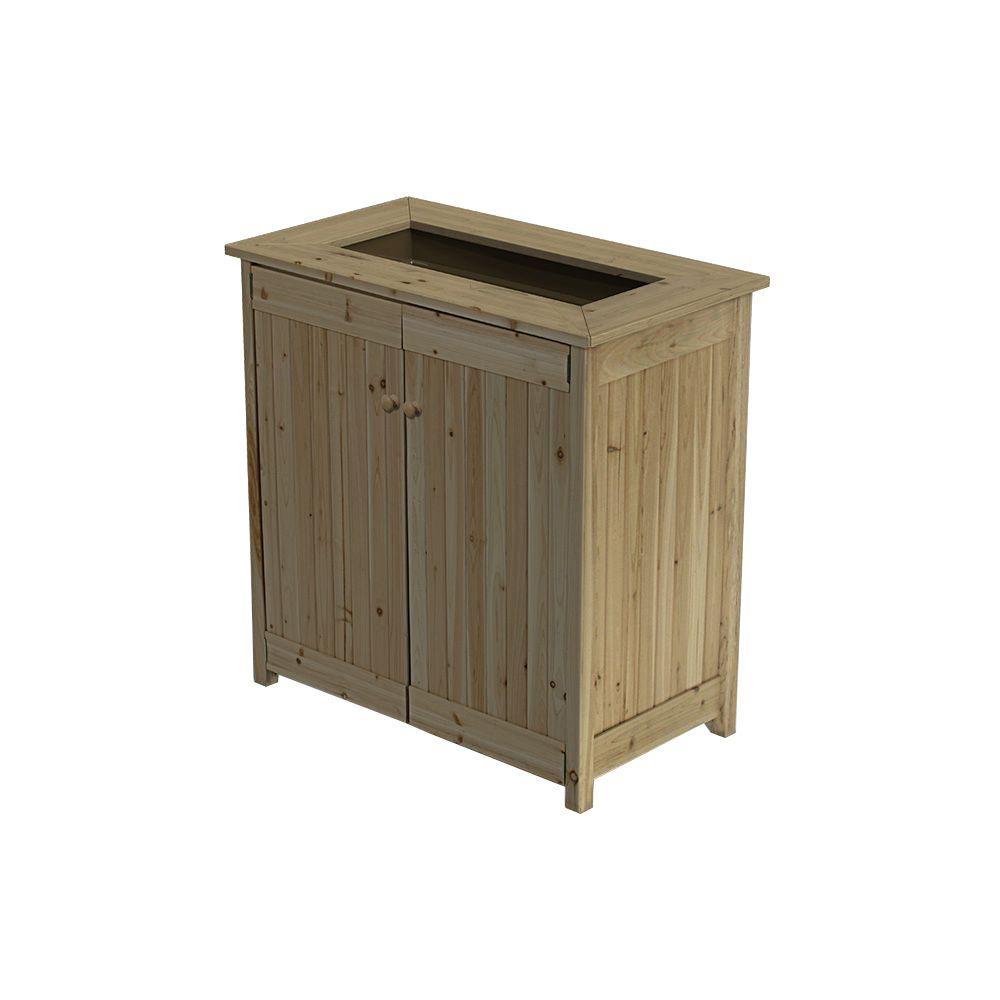 ErgoGarden 102 Gal. Deck Box with Planter