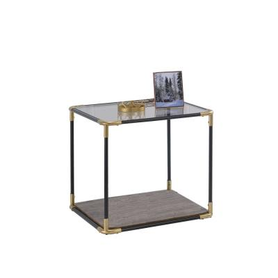 Amelia Black Traditional End Table