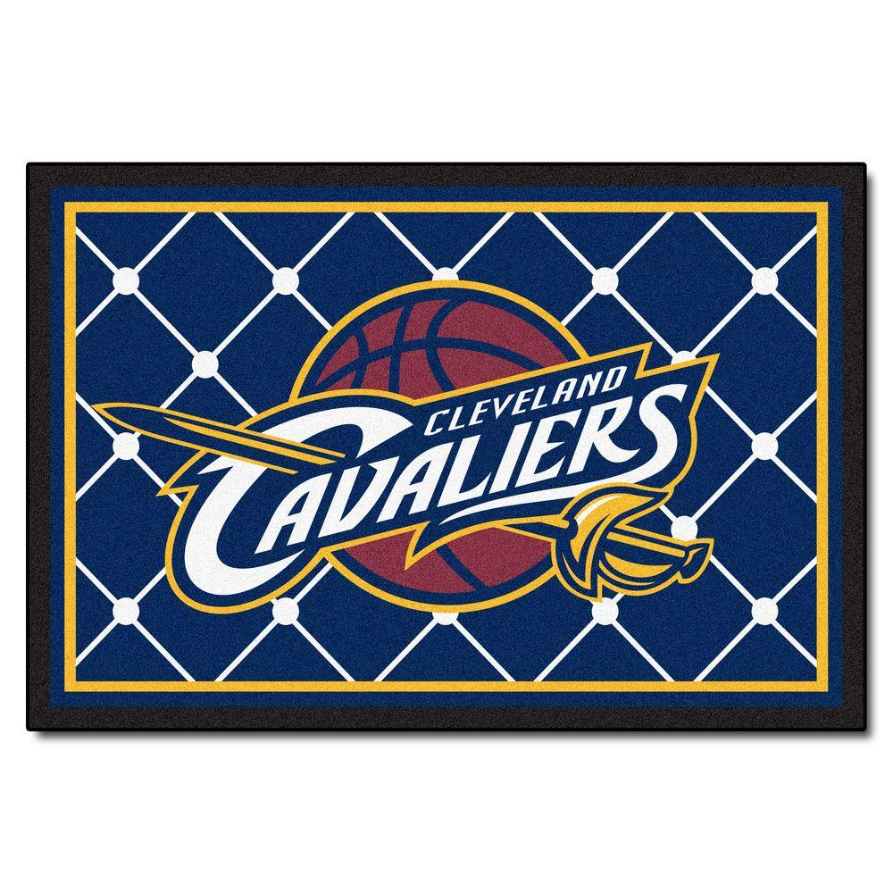 FANMATS Cleveland Cavaliers 5 ft. x 8 ft. Area Rug