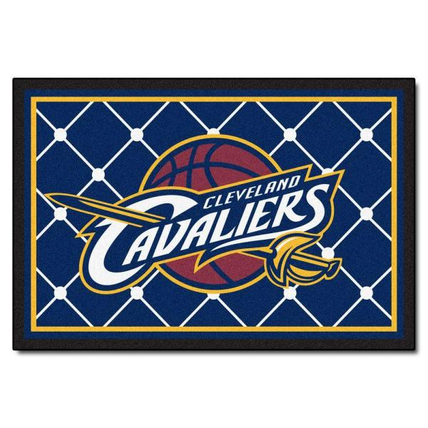 Cleveland Cavaliers 5 ft. x 8 ft. Area Rug