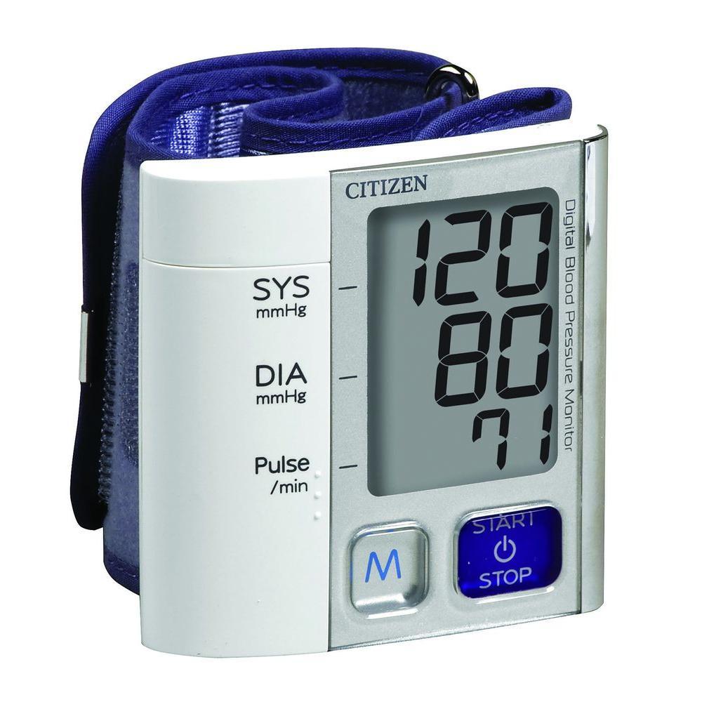 Citizen Wrist Digital Blood Pressure Monitor, Grey