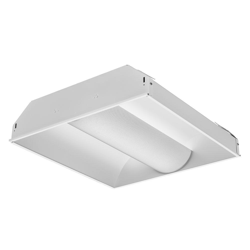 Lithonia Lighting 2 ft. 2-Light Spec Fluorescent Premium Troffer  sc 1 st  Home Depot & Lithonia Lighting 2 ft. 2-Light Spec Fluorescent Premium Troffer ... azcodes.com