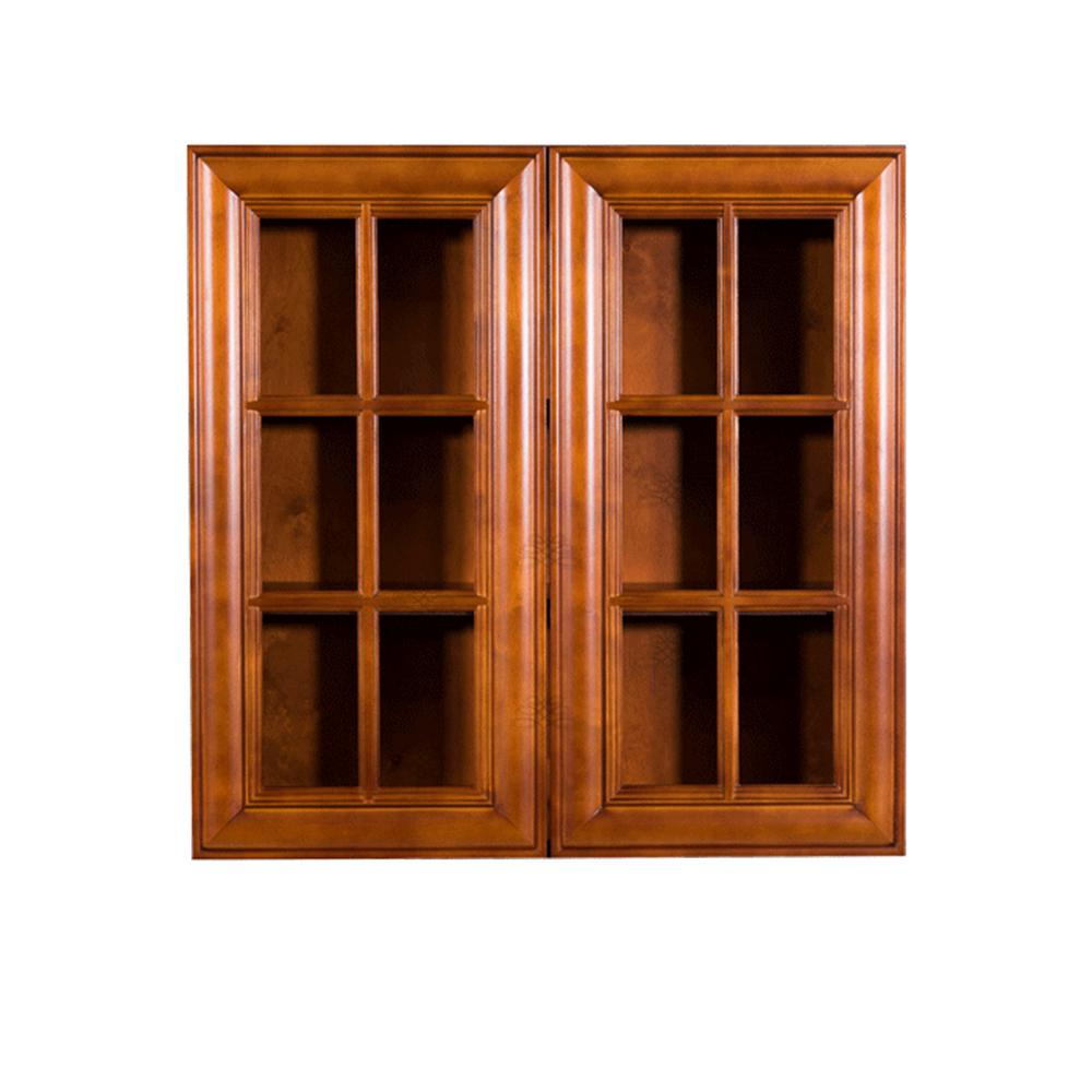Lifeart Cabinetry Cambridge Assembled 27x36x12 In Wall Mullion